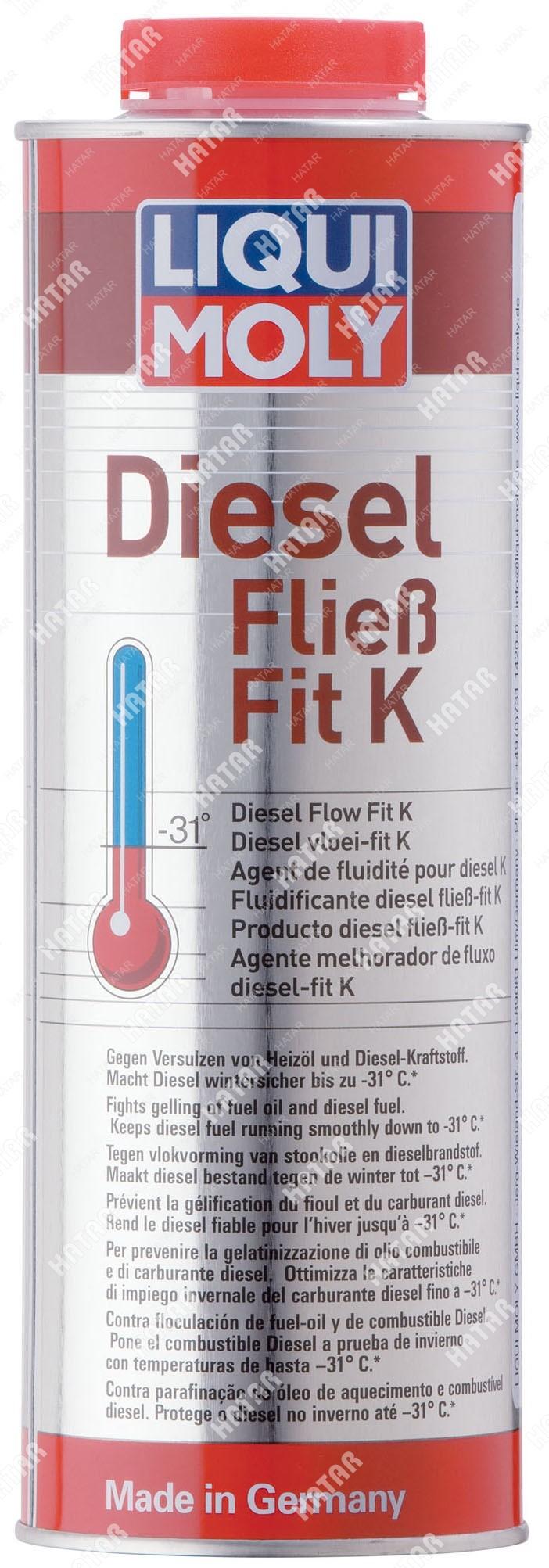 LIQUI MOLY Антигель дизельный концентрат diesel fliess-fit k (1л)