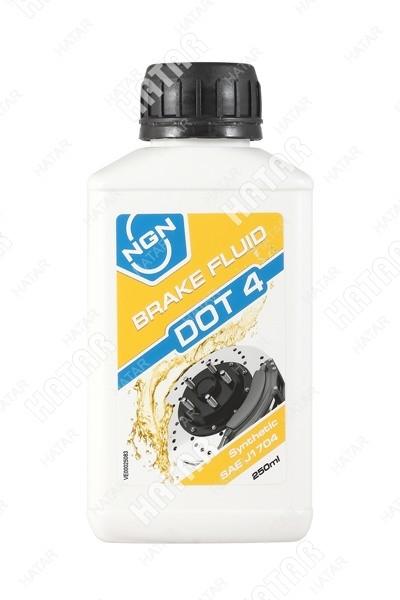 NGN Жидкость тормозная dot-4 0.25л