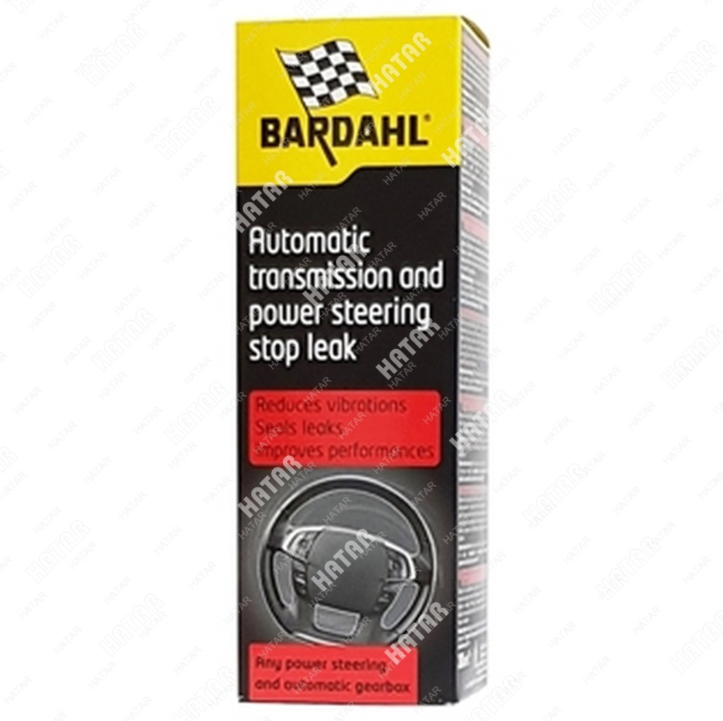 BARDAHL Power steering and automatic transmission stop leak присадка в трансмисионное масло акпп+гур 0,3л