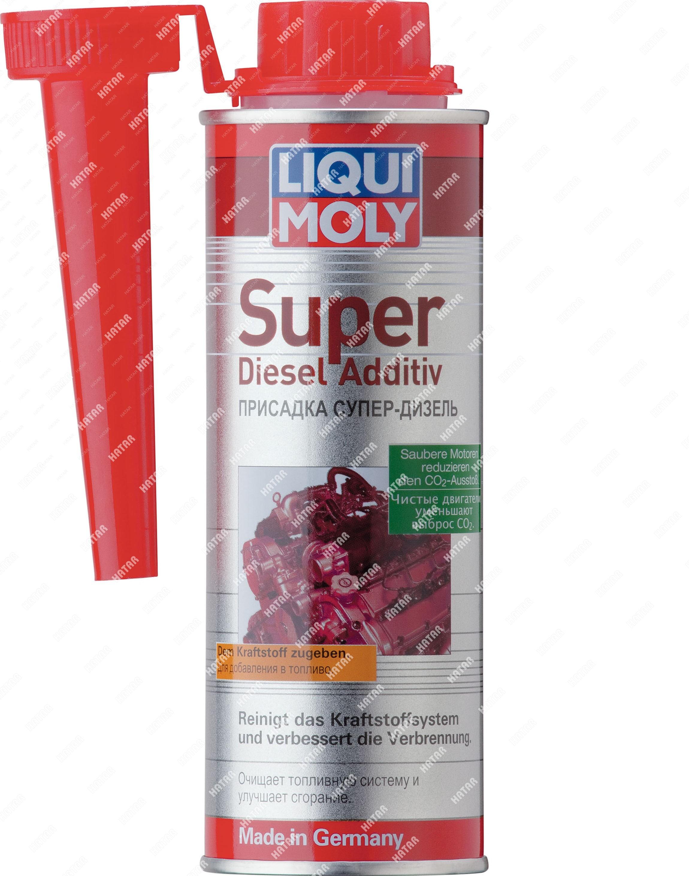 LIQUI MOLY Присадка супер-дизель super diesel additiv (0,25л)