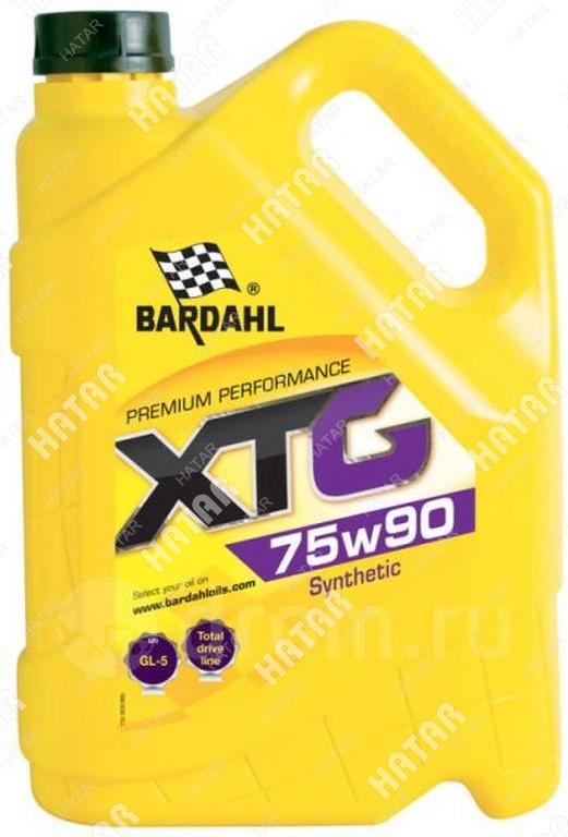 BARDAHL 75w90 gl4/5 xtg 5l (синт. трансмисионное масло)