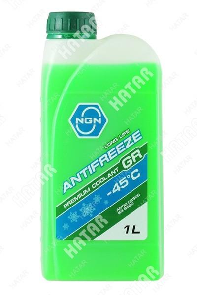 NGN Антифриз, готовый раствор gr -45 зеленый 1л