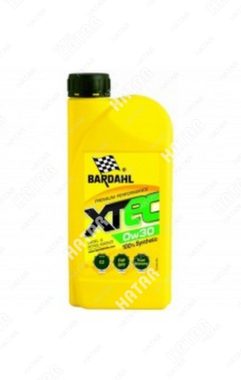 BARDAHL 0w30 xtec c2 1l (синт. моторное масло)