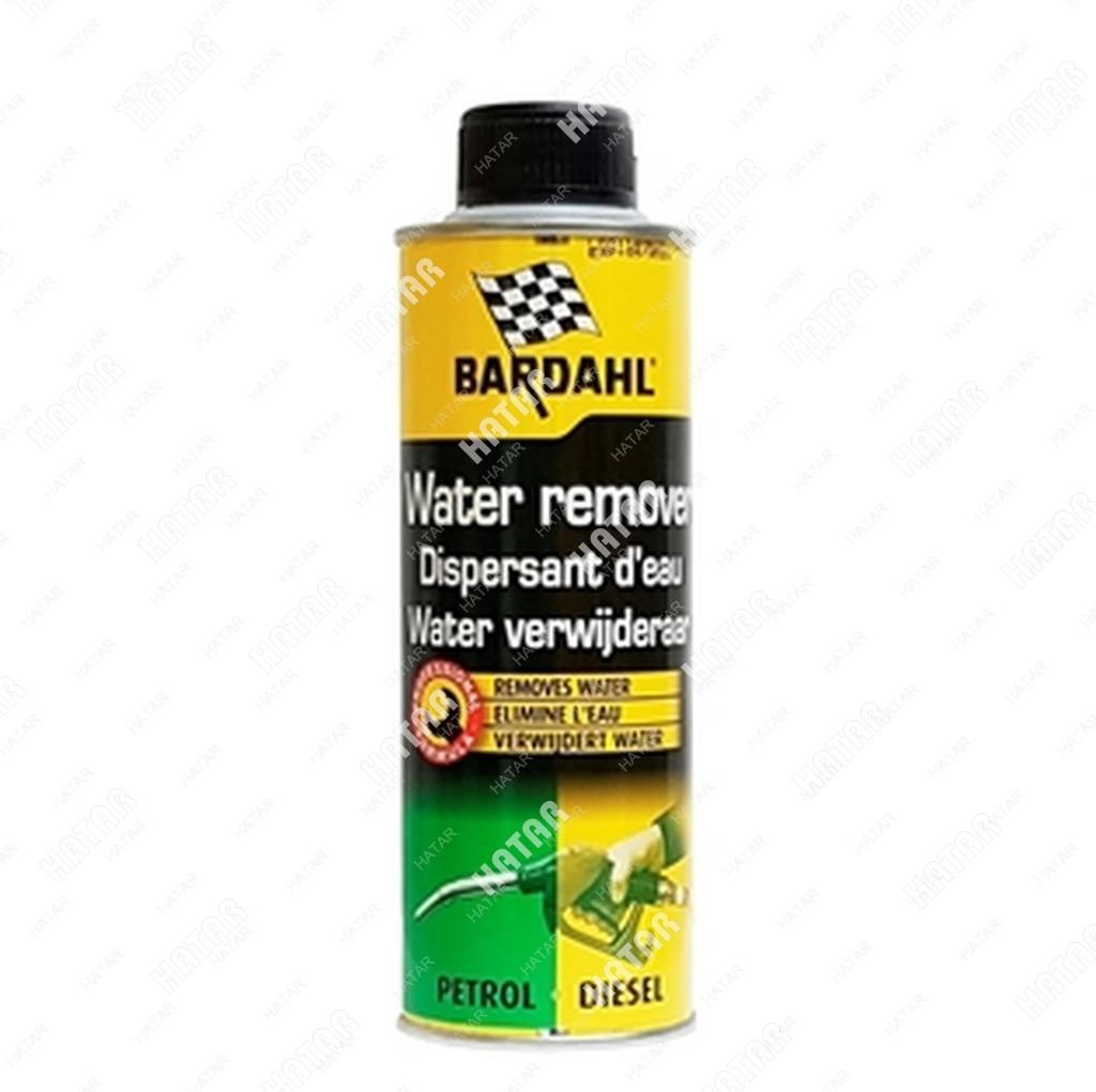 BARDAHL Water remover присадка в топливо для удаления влаги бенз.+диз. 0,3л