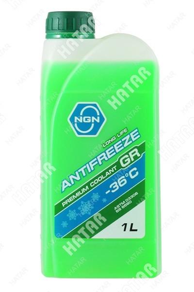 NGN Антифриз, готовый раствор gr -36 зеленый 1л