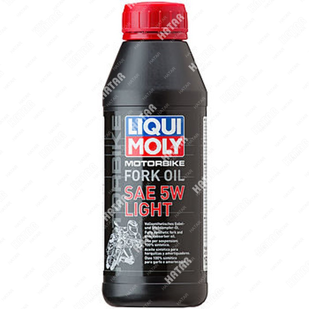 LIQUI MOLY 5w масло для вилок и амортизаторов motorbike fork oil (синтетическое) 0,5л