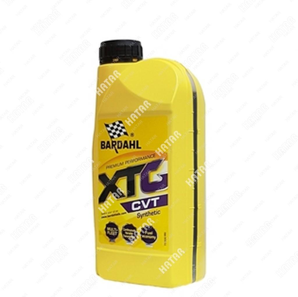 BARDAHL Atf xtg cvt 1l (синт. трансмисионное масло для cvt кпп)