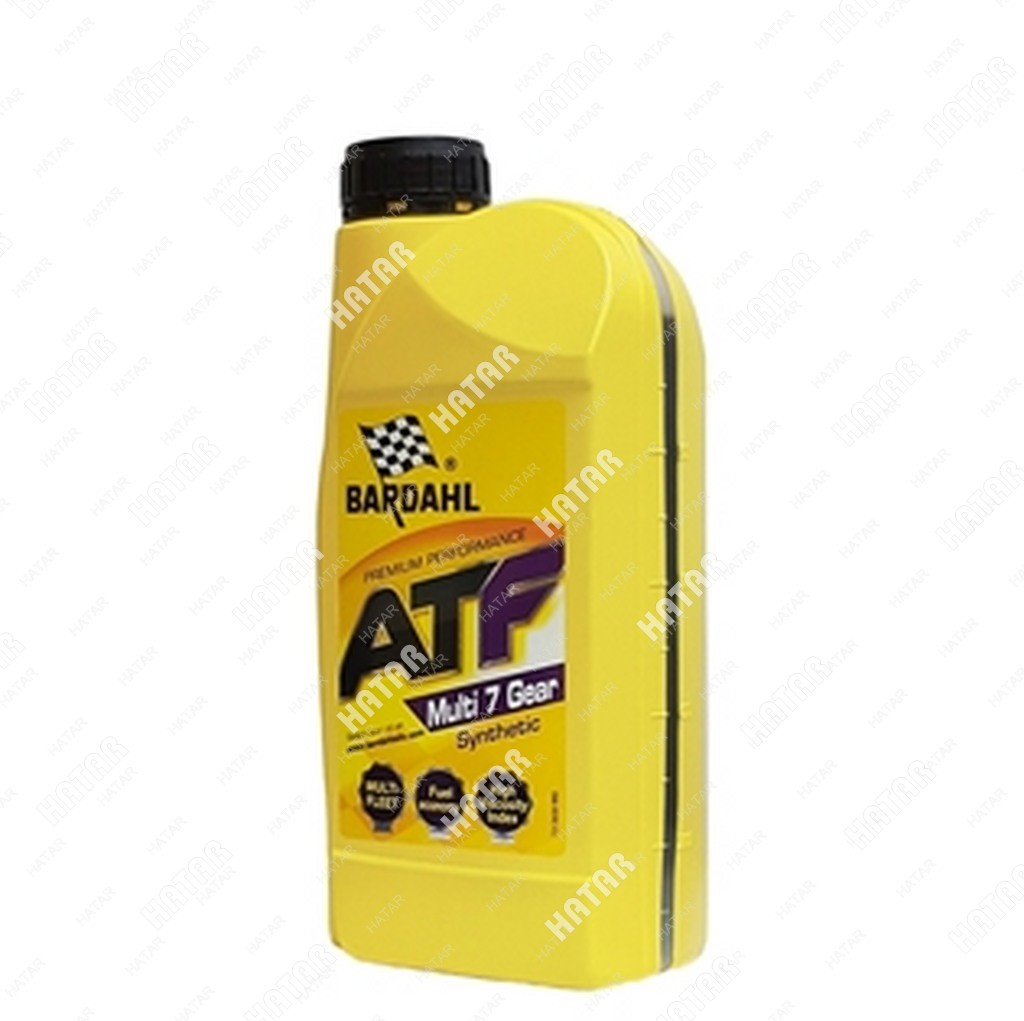 BARDAHL Atf multi 7 gear 1l (авт. транс. синт. масло)