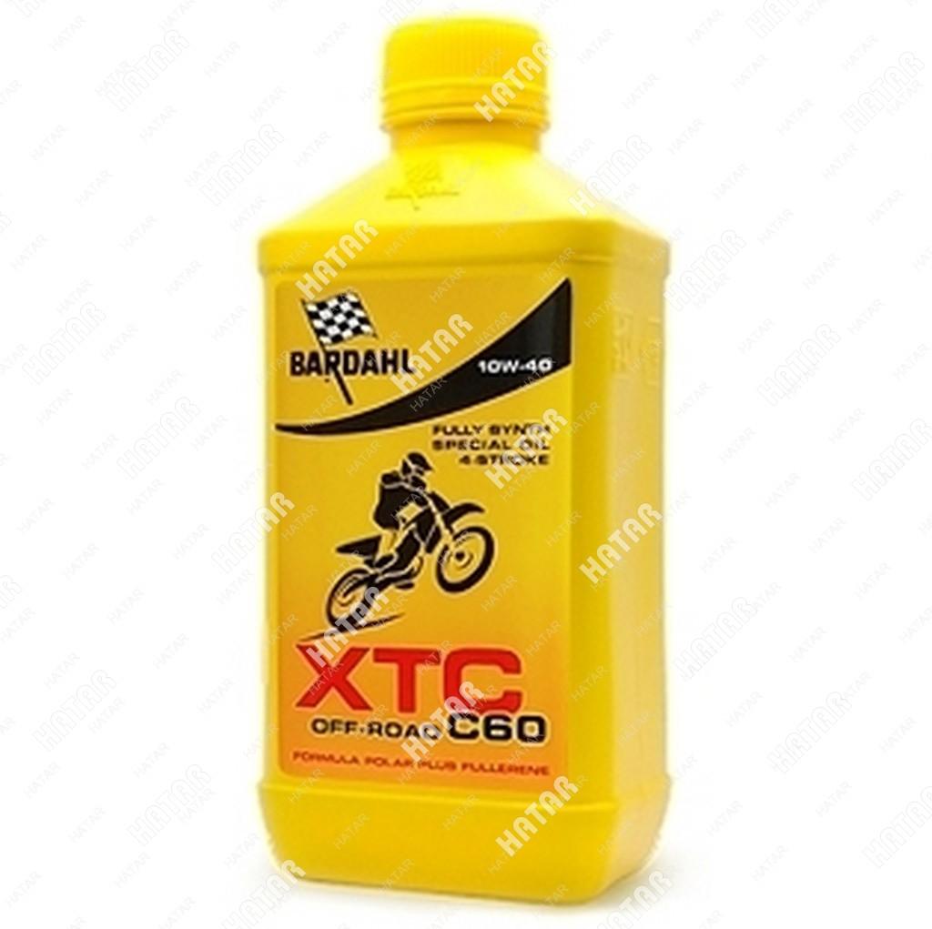BARDAHL 10w40 xtc c60 off road 1l (специальное синт. моторное масло)