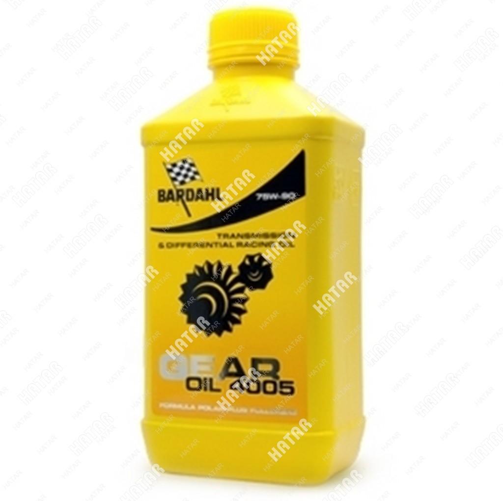 BARDAHL 75w90 gl4/5 4005 gear oil 1l (синт. трансмисионное масло)