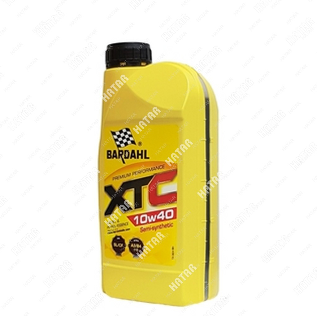 BARDAHL 10w40 xtc sl/cf 1l (полусинт. моторное масло)