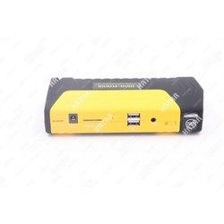 HIGH-POWER Портативное пусковое устройство емкость 16800mah, пусковой ток 300-600а: 2хusb 5a=2a, 12v/15v/19v, фонарь, пуск двс